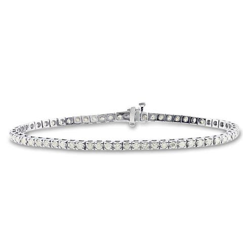 Auriya 2 1/3ctw Round Diamond Tennis Bracelet 14k Gold - 8-inch