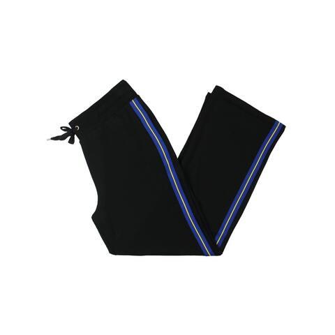 Lauren Ralph Lauren Womens Athletic Pants Striped High Rise