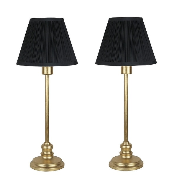 Set of 2 Modello Buffet Lamps, 22.5 inch Tall. Opens flyout.