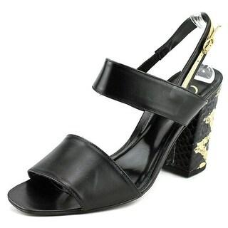 Delman Adria Open Toe Leather Sandals