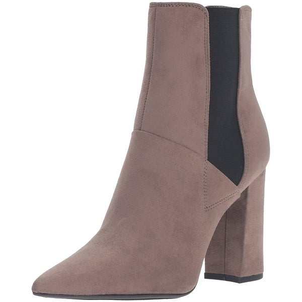 GUESS Womens brek12 Fabric Pointed Toe Ankle Fashion Boots