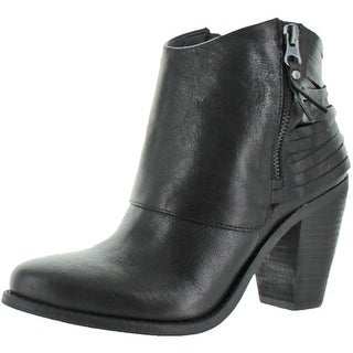 Jessica Simpson Women's Cerrina Leather Ankle Booties