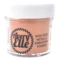 Rose Gold - Avery Elle Metallic Fine Embossing Powder 1Oz