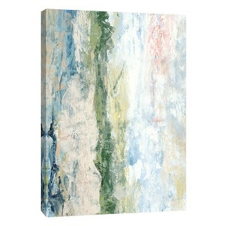 """PTM Images 9-108466  PTM Canvas Collection 10"""" x 8"""" - """"Coastal Seascape 6"""" Giclee Abstract Art Print on Canvas"""