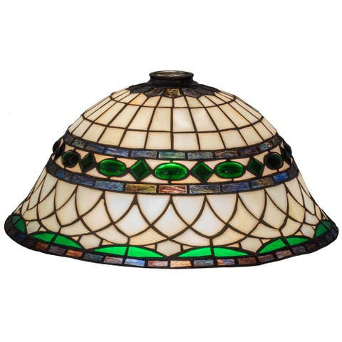 16 In. Wide Tiffany Roman Shade