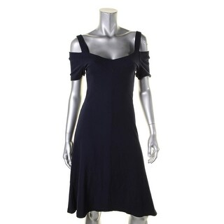 Three Dots Womens Casual Dress Cold Shoulder Sheath (4 options available)