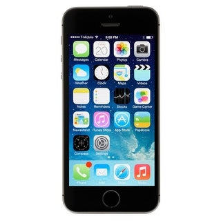Apple iPhone 5s 64GB Unlocked GSM 4G LTE Dual-Core Phone w/ 8MP Camera - Space Gray (Refurbished) - grey
