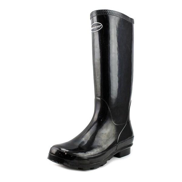 Havaianas Helios High Rain Boot Round Toe Synthetic Rain Boot
