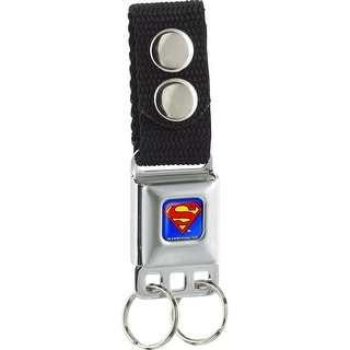 Superman Full Color Blue Keychain