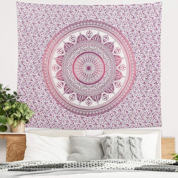Americanflat Mandala Tapestry Wall Hanging Bedroom Dorm Decor Beach Towel Yoga Mat. Opens flyout.