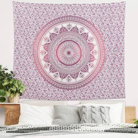 Americanflat Mandala Tapestry Wall Hanging Bedroom Dorm Decor Beach Towel Yoga Mat