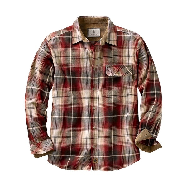 Legendary Whitetails Men's Plaid Buck Camp Flannels