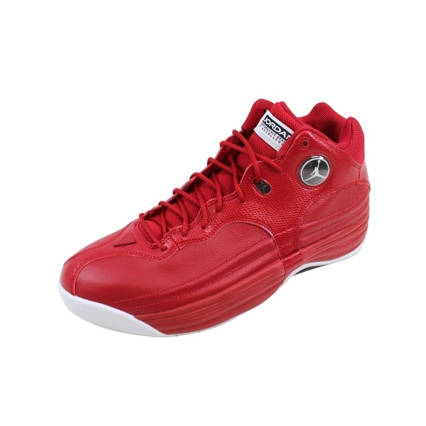 49d7c513454 Shop Nike Men s Air Jordan Jumpman Team 1 Gym Red White-Black 644938 ...