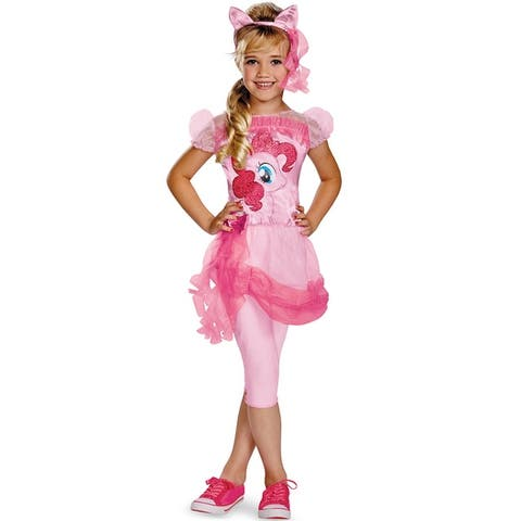 Disguise Pinkie Pie Classic Child Costume - Pink