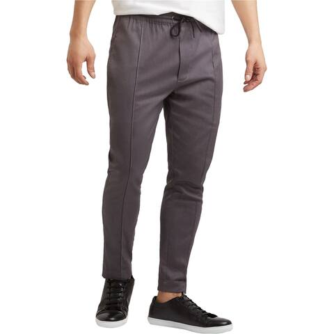 Kenneth Cole Mens Techni-Cole Casual Jogger Pants, grey, Large