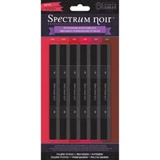 Reds - Spectrum Noir Alcohol Markers 6/Pkg