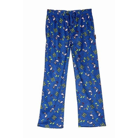 Hawke & Co. Men Sleepwear Blue Size Small S Flamingo Print Lounge Pants