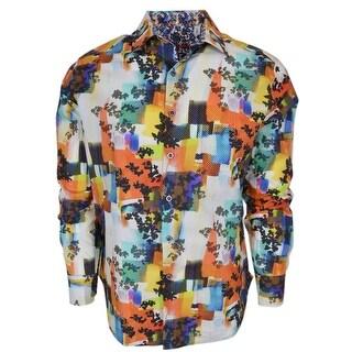 Robert Graham BURLINGAME Button Down Sports Dress Shirt
