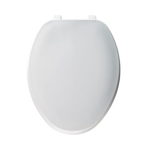 Mayfair 170-000 Molded Plastic Toilet Seat in White
