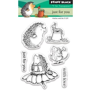 """Penny Black Clear Stamps 3""""X4""""-Just For You"""