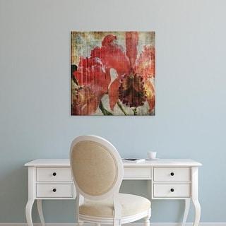Easy Art Prints John Butler's 'Pacific Orchid I' Premium Canvas Art