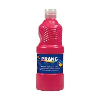 Prang Ready-to-Use Tempera Paint, Pint, Red