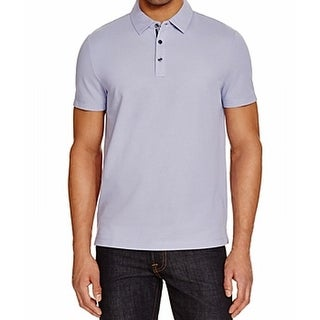 Michael Kors NEW Purple Lilac Mens Size 2XL Polo Rugby Cotton Shirt