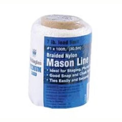 Wellington 10006 Braid Mason Chalk Line, 100'