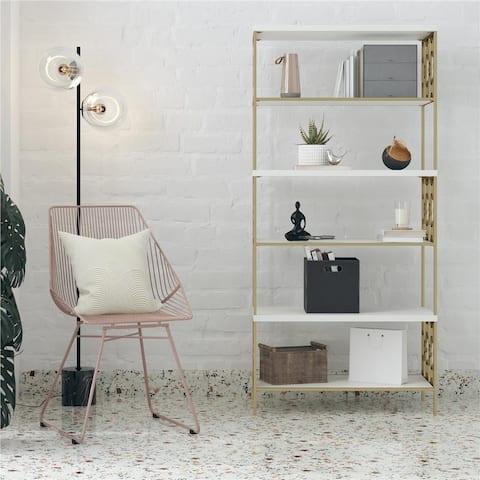 CosmoLiving by Cosmopolitan Ella 5 Shelf Bookcase