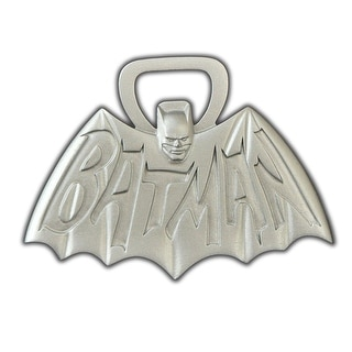 "Batman 1966 TV Logo 4"" Metal Bottle Opener - Multi"