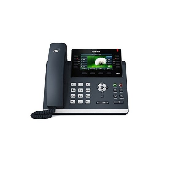 Yealink Sip-T46s Usb 2.0 Sip Telephone With Dual-Port Gigabit Ethernet