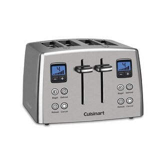 Cuisinart CPT-435 Countdown 4-Slice Toaster, Stainless Steel
