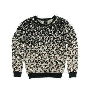 Marc by Marc Jacobs Womens Wool Metallic Pullover Sweater