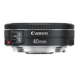 Canon EF 40mm f/2.8 STM Lens with 52mm UV Protector and  Accessory Bundle