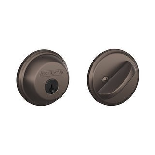 Schlage B60 Single Cylinder Grade 1 Deadbolt from the B-Series (More options available)