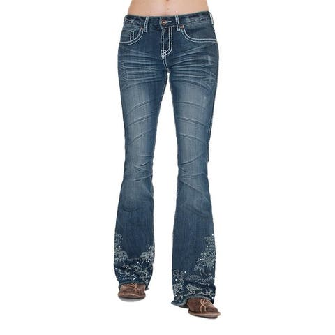 Cowgirl Tuff Western Jeans Womens Unbelievable 20 Trouser Med