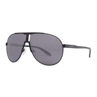 CARRERA Aviator New Panamerika Unisex 003 Y1 Matte Black Gray Sunglasses - 66mm-9mm-135mm