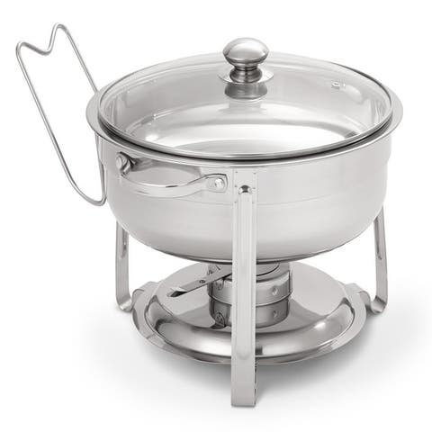 Oster Sangerfield 6 piece 4.5 Quart Round Chafing Dish Set