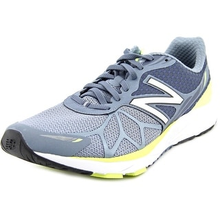 New Balance Pace Men 2E Round Toe Synthetic Gray Running Shoe
