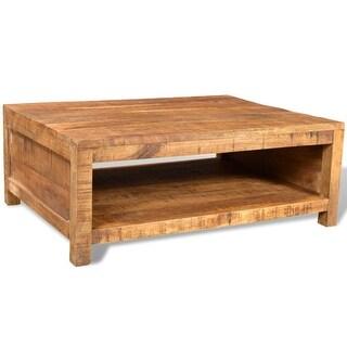 vidaXL Coffee Table Solid Mango Wood