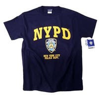 NYPD Shirt T-Shirt Clothing Apparel Officially Licensed Merchandise X-Large