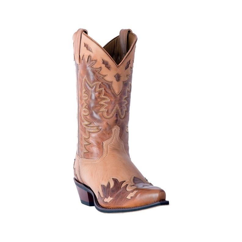 Laredo Western Boots Mens Nash Snip Toe