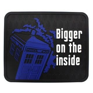 "Doctor Who TARDIS Bigger on the Inside 16"" x 13.5"" Rubber Mat - Multi"