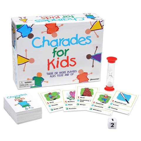 (2 Ea) The Best Of Charades For Kids