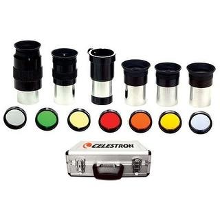 Celestron 94303 Telescope Eyepiece/Filter Accessory Kit - 1.25 inch (1-1/4 in.) - Silver