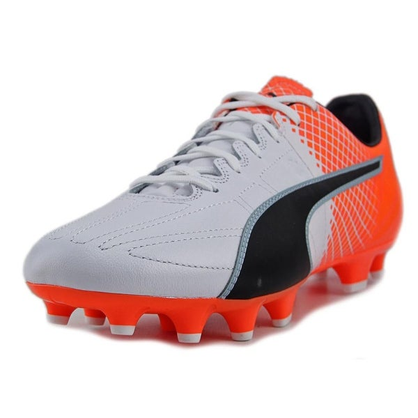 Puma evoSpeed 3.5 Lth FG Men Puma White Cleats