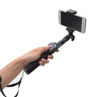 AGPtek Aluminum Selfie Stick Monopod with Bluetooth Remote Shutter For iPhone Android Smartphone Gopro