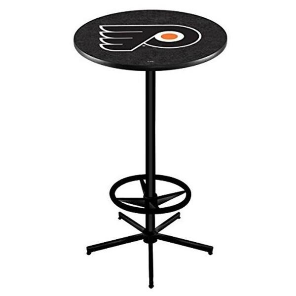 Holland Bar Stool Philadelphia Flyers Pub Table With Black Background