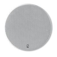 """PolyPlanar 8"""" Platinum Round Marine Speaker, Pair - White"""