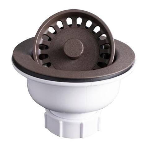 Karran Kitchen Sink Basket Strainer in Black